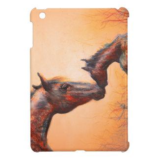 Sunrise mother & foal ipad mini case