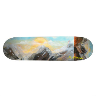Sunrise Mountain Top Skateboard 8 1/2""