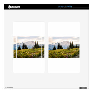 Sunrise Mt. Rainier Gifts Skins For Kindle Fire