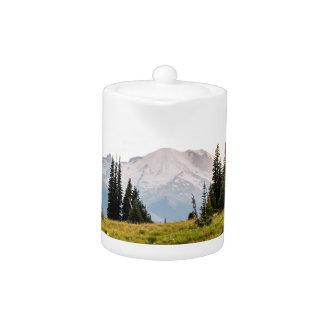 Sunrise Mt. Rainier Gifts Teapot