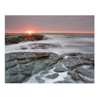 Sunrise near Brenton Point State Park on Ocean Postcard