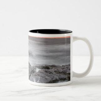 Sunrise near Brenton Point State Park on Ocean Two-Tone Coffee Mug