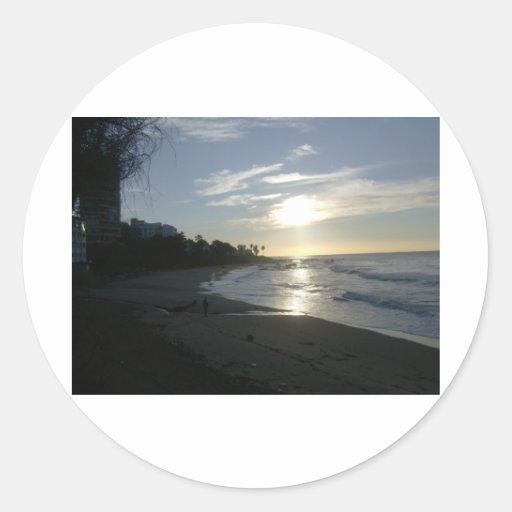Sunrise near Malaga Stickers