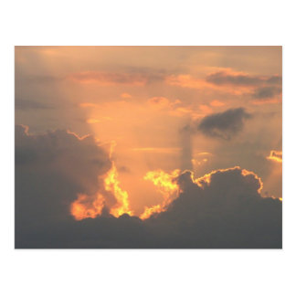 Sunrise, New Haven, Belize Postcard