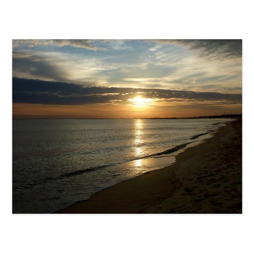 Sunrise Norfolk VA Postcard