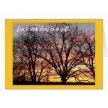 Sunrise Notecard Greeting Card