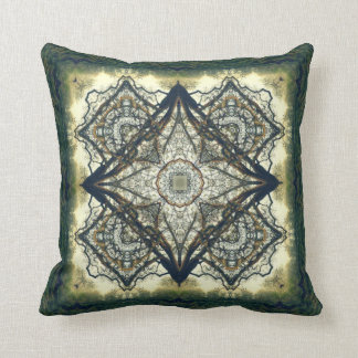 Sunrise Oak Kaleidoscope Design No.1 Pillow