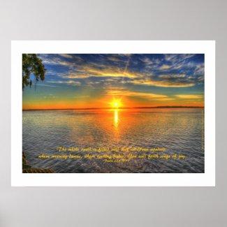 Sunrise of Colorful Awe
