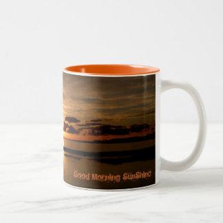 Sunrise of Fuerteventura Canary Islands Cup Coffee Mugs
