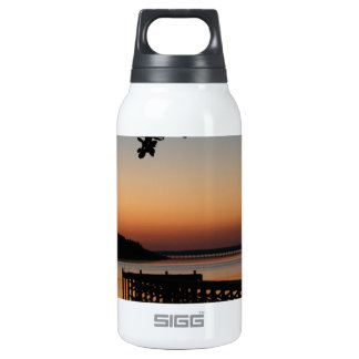 Sunrise on Bogue Sound 10 Oz Insulated SIGG Thermos Water Bottle