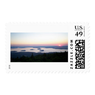 Sunrise on Cadillac Mountain Stamps