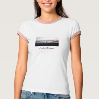 Sunrise on Cadillac Mountain Women's Tee (L)