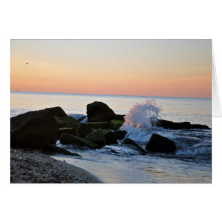 Sunrise on Cape Cod- Falmouth, MA Blank Notecard Stationery Note Card
