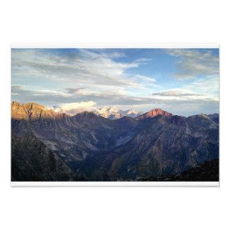 Sunrise on Colorado's Elk Range Photo Print