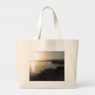 Sunrise On Corfu Island In Greece 3 Canvas Bag