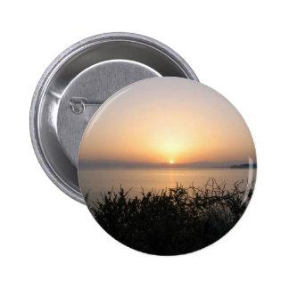 Sunrise On Corfu Island In Greece 4 Pinback Button