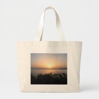 Sunrise On Corfu Island In Greece 4 Jumbo Tote Bag