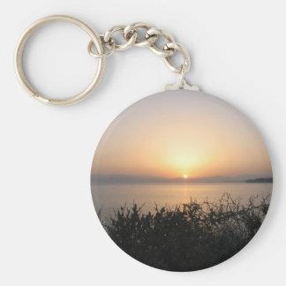 Sunrise On Corfu Island In Greece 4 Keychains