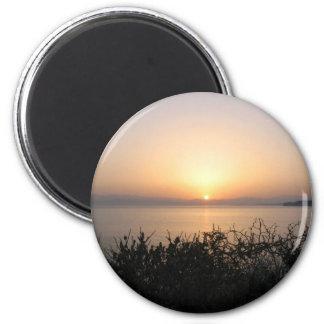 Sunrise On Corfu Island In Greece 4 Magnet