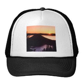 Sunrise On Crater Island Crater Oregon Trucker Hat