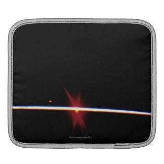 Sunrise on Earth's Horizon Sleeves For iPads