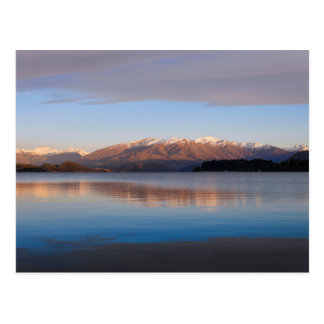 Sunrise on Lake Wanaka, New Zealand - Postcard