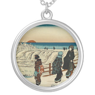 Sunrise on New Year's Day at Susaki Silver Plated Necklace