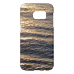 Sunrise on Ocean Waters Blue Abstract Photography Samsung Galaxy S7 Case