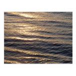 Sunrise on Ocean Waters Postcard