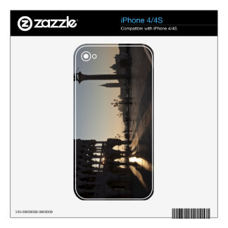 Sunrise on Plaza San Marco Decal For iPhone 4