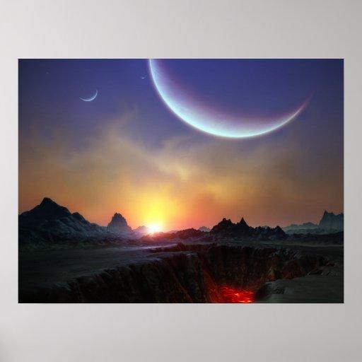 Sunrise on Tarsus IV Poster