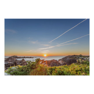Sunrise On The Armação Beach Poster