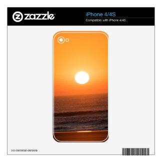 Sunrise on the Atlantic Coast Decals For iPhone 4
