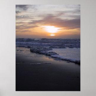 Sunrise on the Atlantic Ocean Poster
