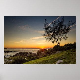 Sunrise On The Beach Armação, Brazil Poster