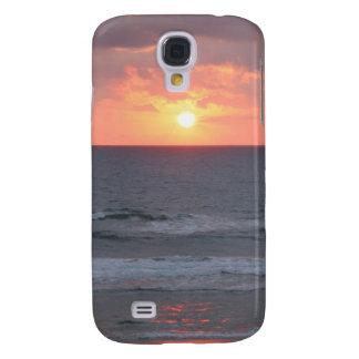 Sunrise on the beach galaxy s4 cover