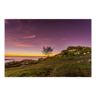 Sunrise On The Beach In Florianopolis Poster