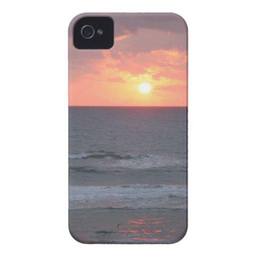 Sunrise on the Beach iPhone case iPhone 4 Cases