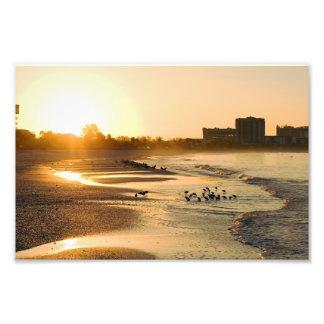 Sunrise on the Beach Photo Print