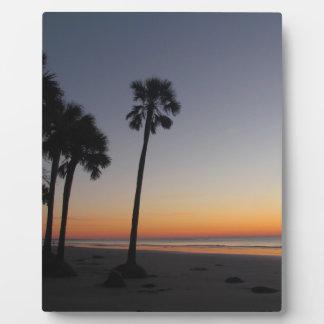 Sunrise on the Beach Plaque
