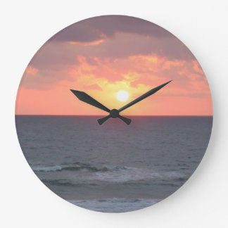 Sunrise on the Beach Wall Clock