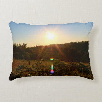 Sunrise on the Bennoch Rd Accent Pillow