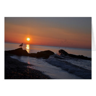 Sunrise on the Cape Blank Notecard Stationery Note Card