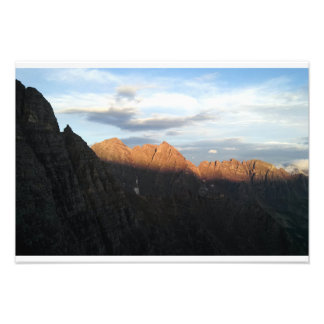 Sunrise on the Deadly Bells Photo Print