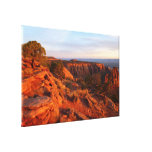 Sunrise on the Grand View Trail at CO Monument Canvas Print