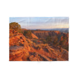 Sunrise on the Grand View Trail at CO Monument Fleece Blanket