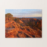 Sunrise on the Grand View Trail at CO Monument Jigsaw Puzzle