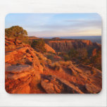 Sunrise on the Grand View Trail at CO Monument Mouse Pad
