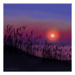 Sunrise on the Great Lakes Print