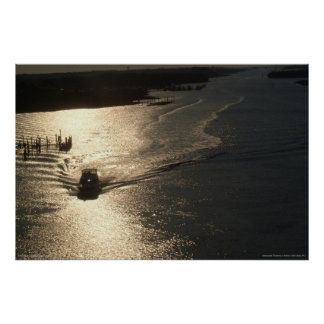Sunrise on the Intracoastal Waterway - print